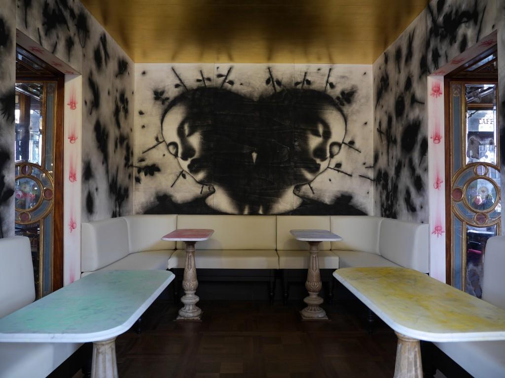 Il Sogno della Principessa Lyu Ji. Sala Cinese del Caffè Florian. Foto Massimiliano Galliani
