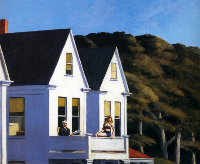 Second Story Sunlight, 1960. Olio su tela, 101.6 x 127 cm